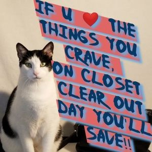 Help me help you, on Closet Clear Out Day!